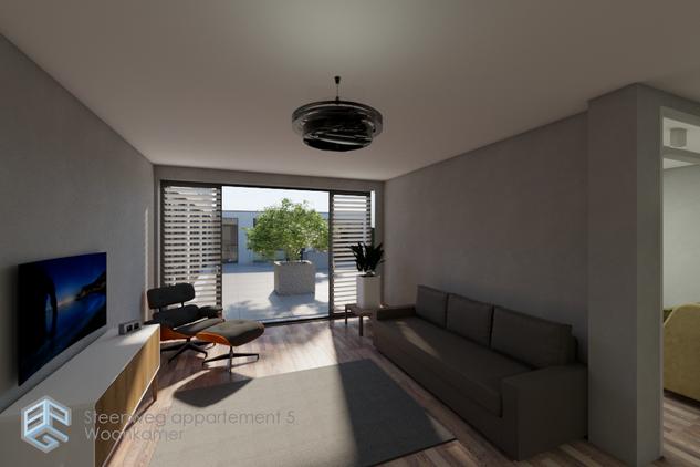 3D visualisatie appartement Sittard