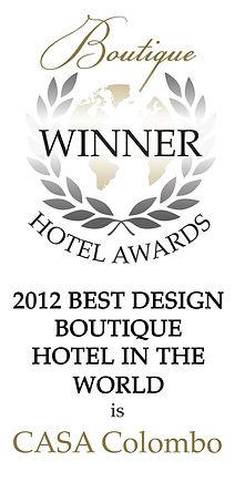 best design boutique hotel award casa colombo