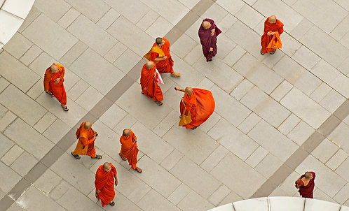 Monks from Above