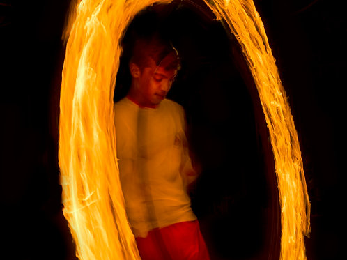 Fire Dancer Alone