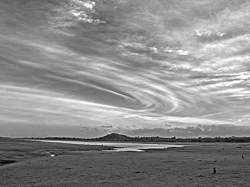 Circular clouds Minneriya