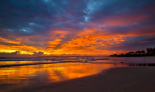 Weligama Sky on Fire