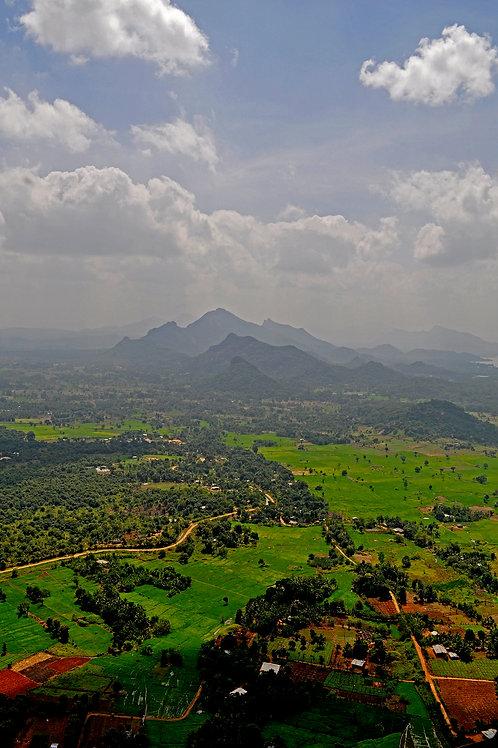 Sri Lankan Aerial Landscape (Large Print)