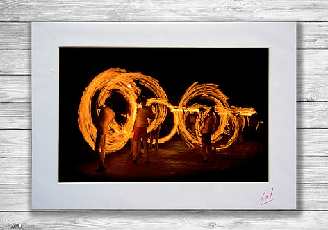 Rings of Fire (Matted Print)