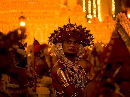 Kandyan Dancer look