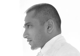 Mr Lalin - Photo - B&W Side profile.jpg