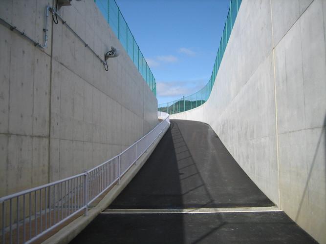 姫路競馬場整備工事