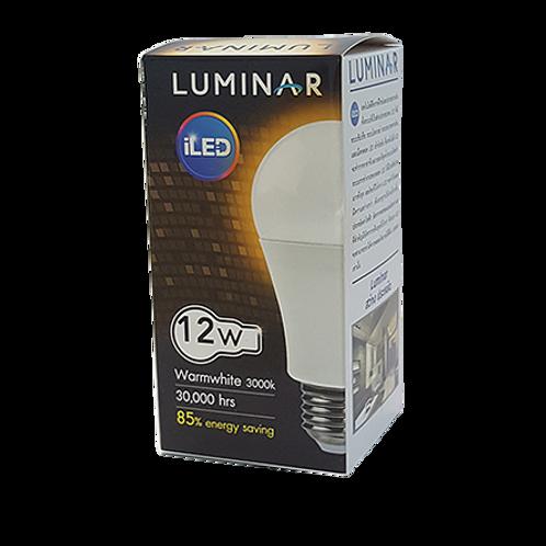 หลอด LED BULB LUMINAR 12W Warmwhite