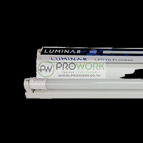 ชุดเซ็ท LED นีออน T8 18W LUMINAR 1800 lumen DAYLIGHT