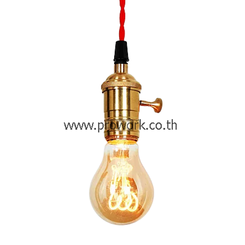 LED Bulb A60 4W Spiral Dimmable