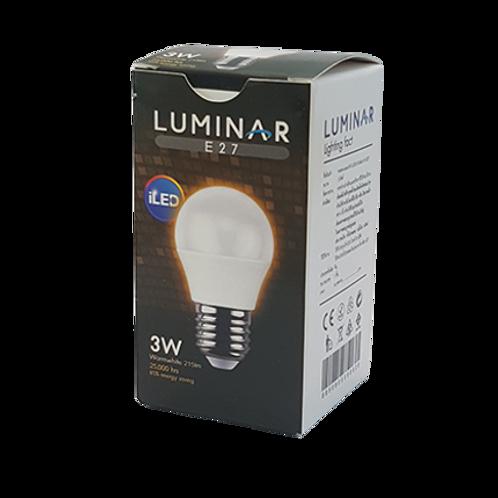 หลอด LED G45 LUMINAR 3W WARMWHITE