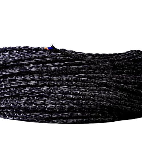 Wire Black Twist