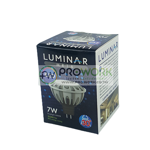หลอด LED MR16 220V LUMINAR 7W Daylight