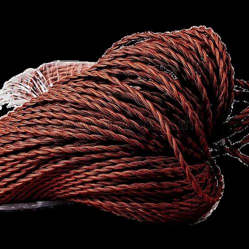 Wire Brown Twist