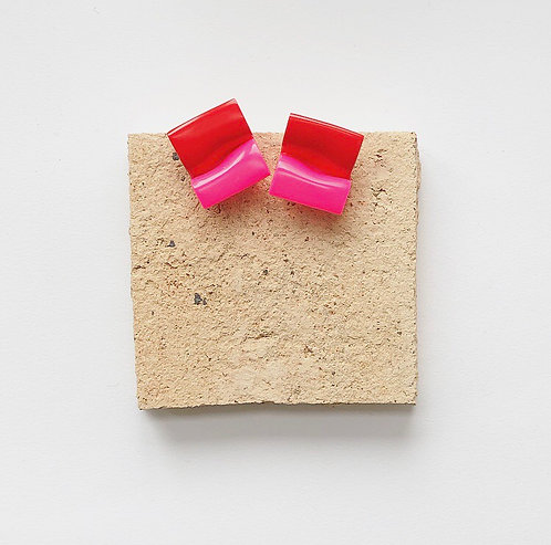 MINI SELINA IN PINK & RED