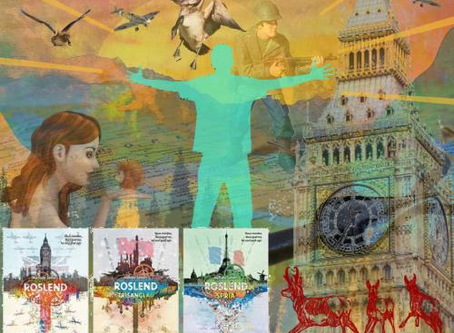 Roslend, la trilogie pour les ados et les adultes