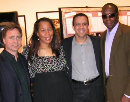 Lou Rainone, Sir G, Earl Grice and Paul Beaudry, The International Women Jazz Festival