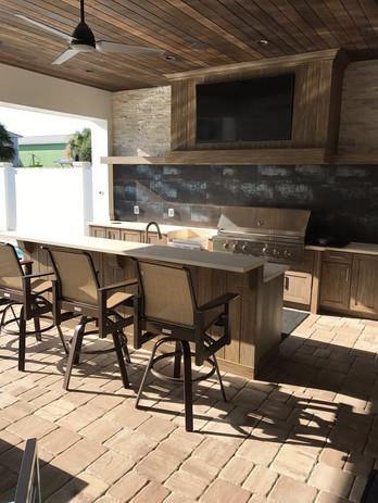 Outdoor Granite Countertop