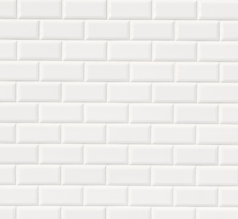 Bright White Backsplash