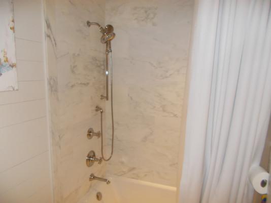 slab shower