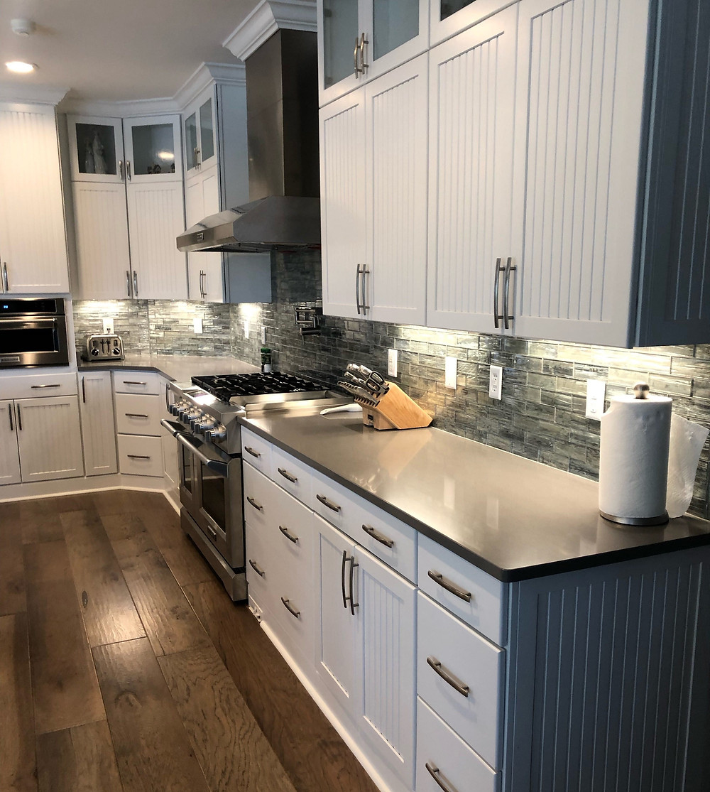 Silestone countertop in kitchen