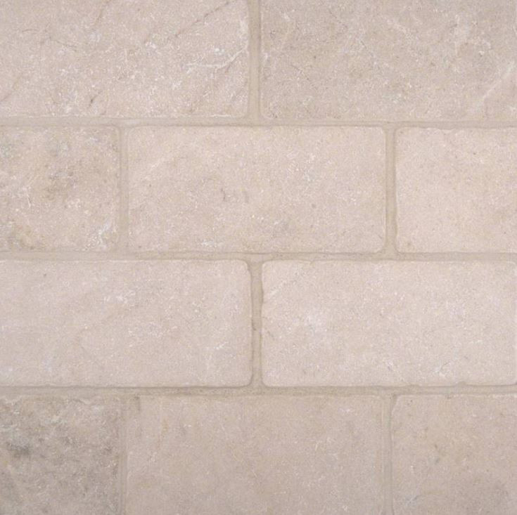 Crema Marfil Tile Backsplash