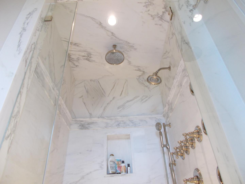 marble shower tile