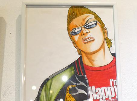 髙橋ヒロシ 画業30周年記念 イラスト原画展 『クローズ×WORST CAFE in 大阪』を開催いたしました!