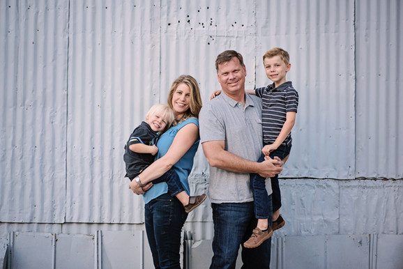 Hinton Family Portrait session