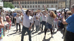 flashmob Cluny