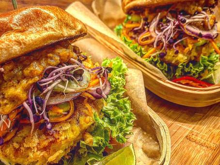 Thai Burger Saté Gai Style