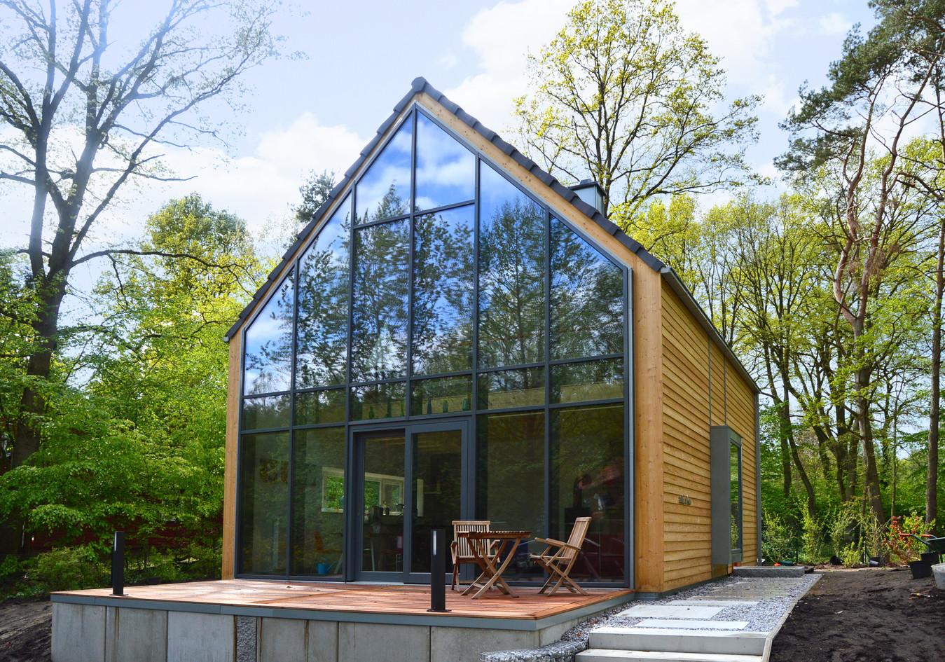 Ferienhaus in Holzrahmenbau