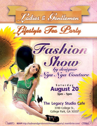 Nya  Nya Couture will launch there hat collection @The Legacy Studio Cafe