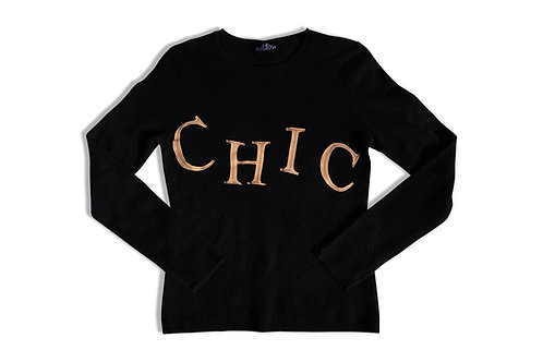 """Chic"" Cashmere Sweater"