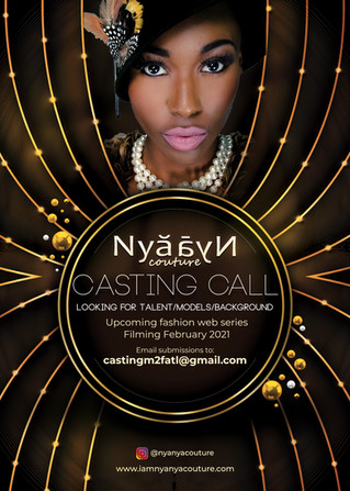 Now Casting for our New Fashion Web Series!!