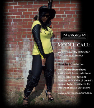 """MODEL CALL: """"MISS STELLA"""" COLLECTION"""