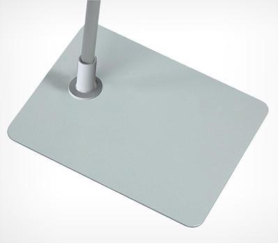 Прямоугольная металлическая подставка для рамок