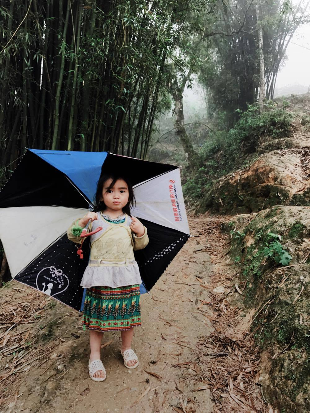 Hmong Child in Sapa