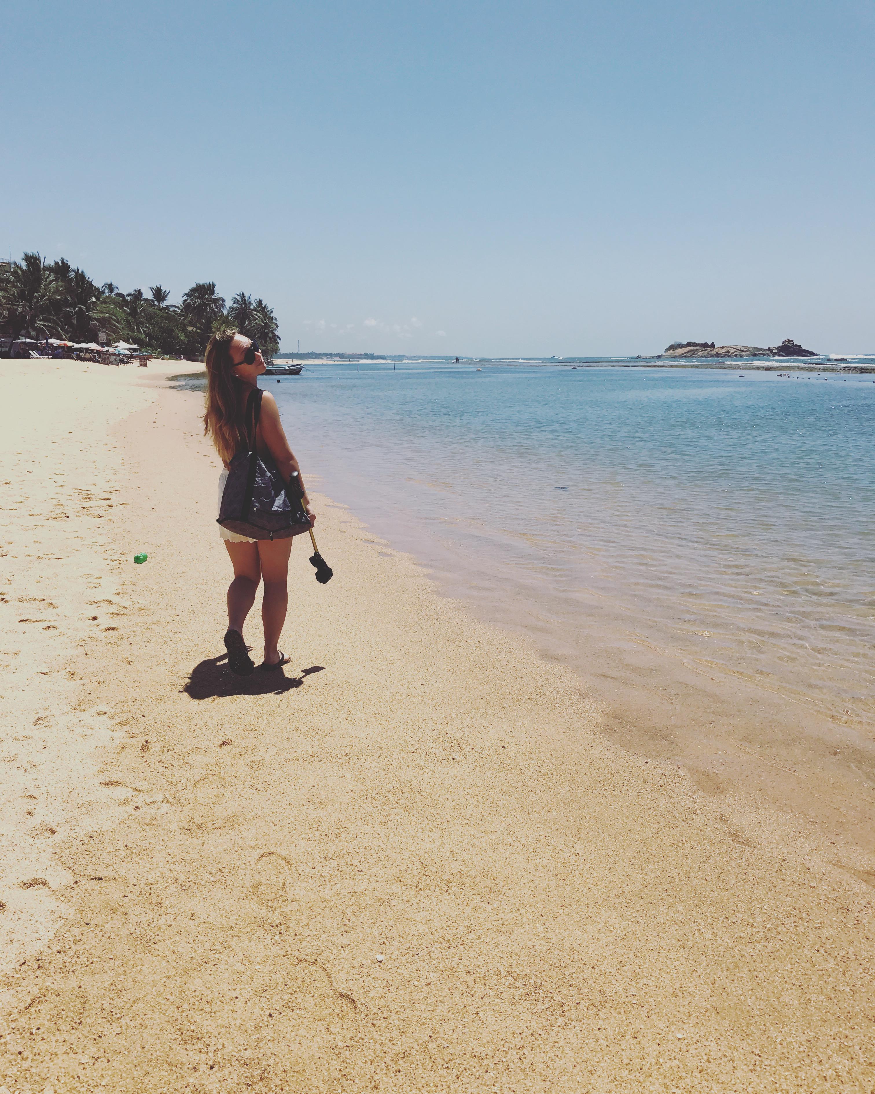 Beachside in Trincomalee