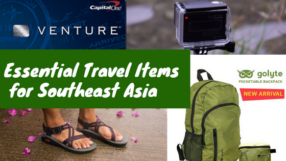 My Top 5 Travel Essentials for Southeast Asia