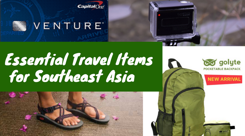 Essential Travel Items for Southeast Asia