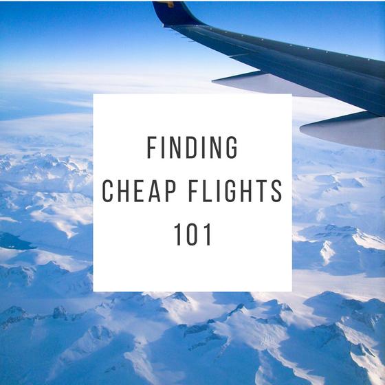 Finding Cheap Flights 101