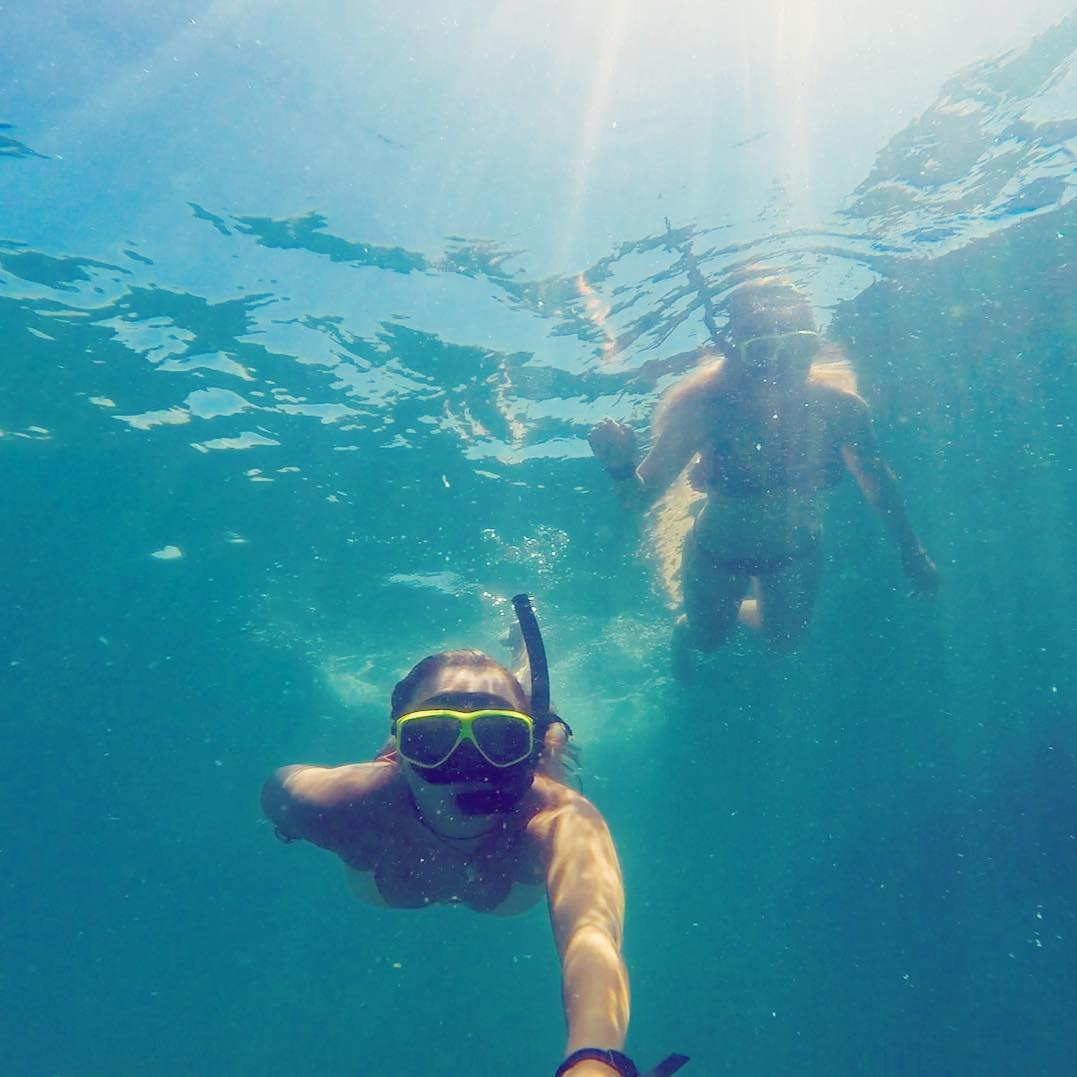 Snorkeling in Trincomalee