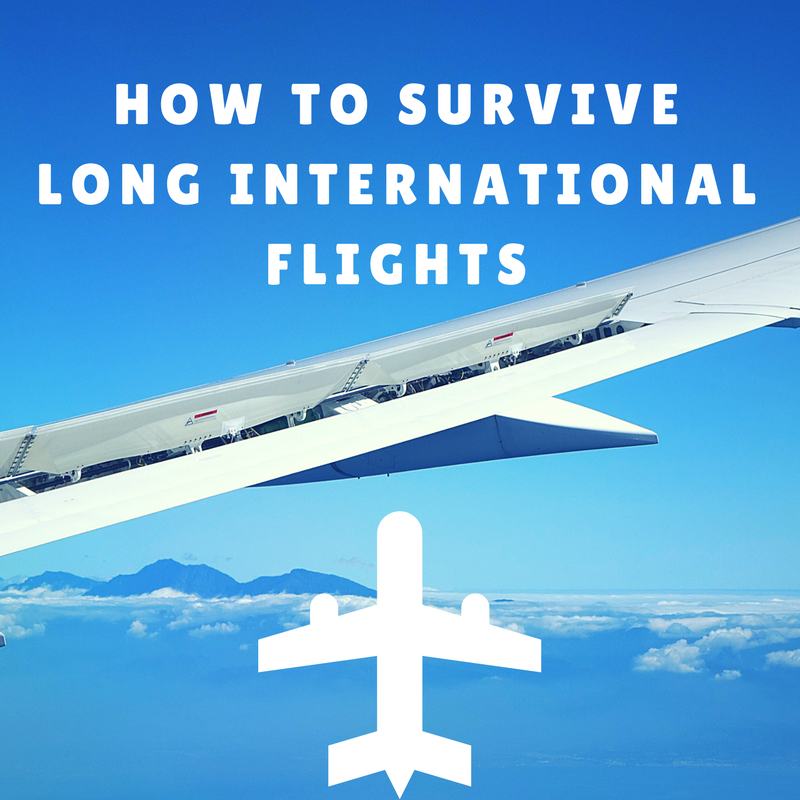How to Survive Long International Flights