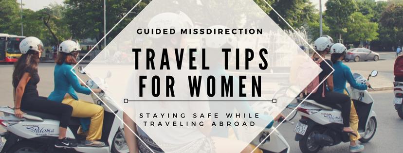 Travel Tips for Women