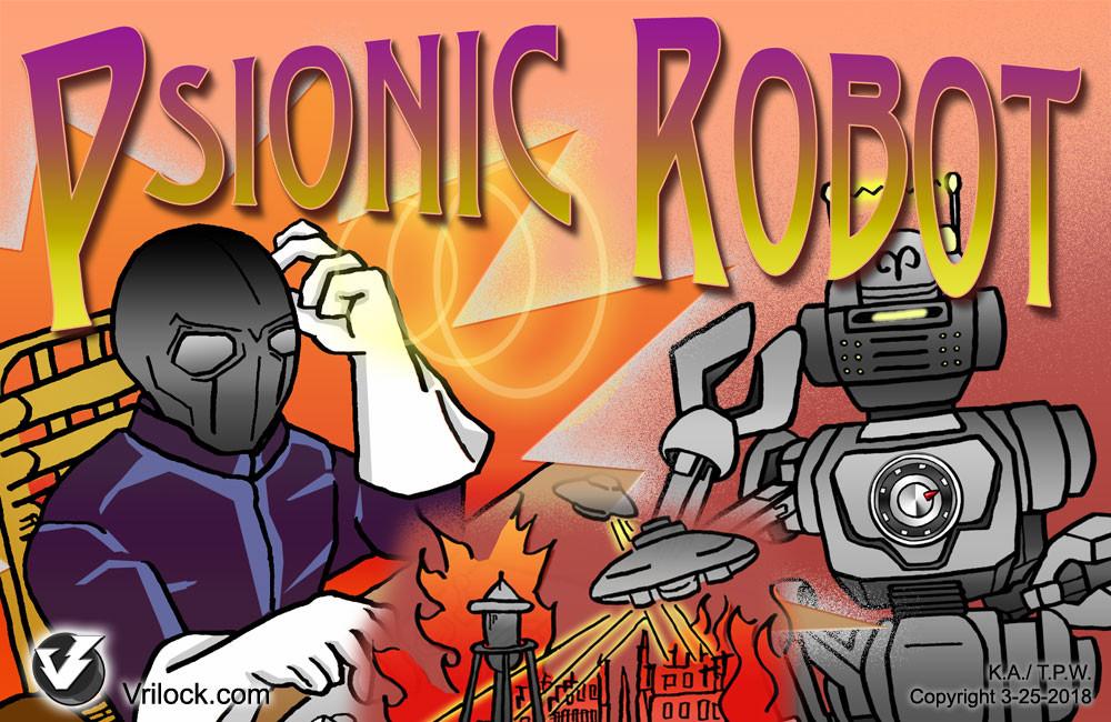 Vrilock Psionics Training Program: Psionic Robot