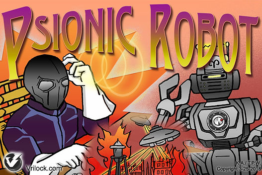 Psionic robot book, Magic Store | Vrilock Psionics and Concentration Publications Network