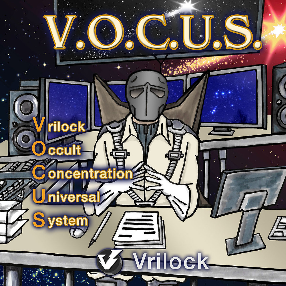 Vrilock VOCUS occult concentration universal system Insiders Psionics Club and Magick Coaching Training