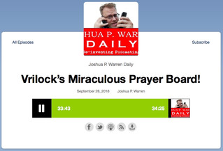 Joshua P. Warren and the Miraculous Prayer-Board