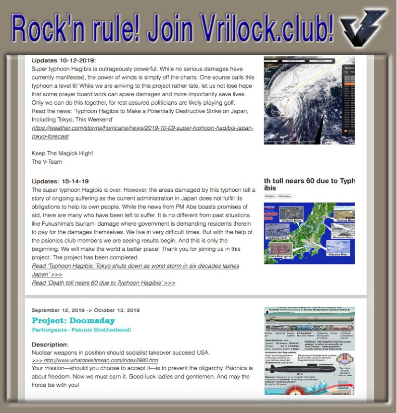 Vrilock Insiders Club Psionic Brotherhood